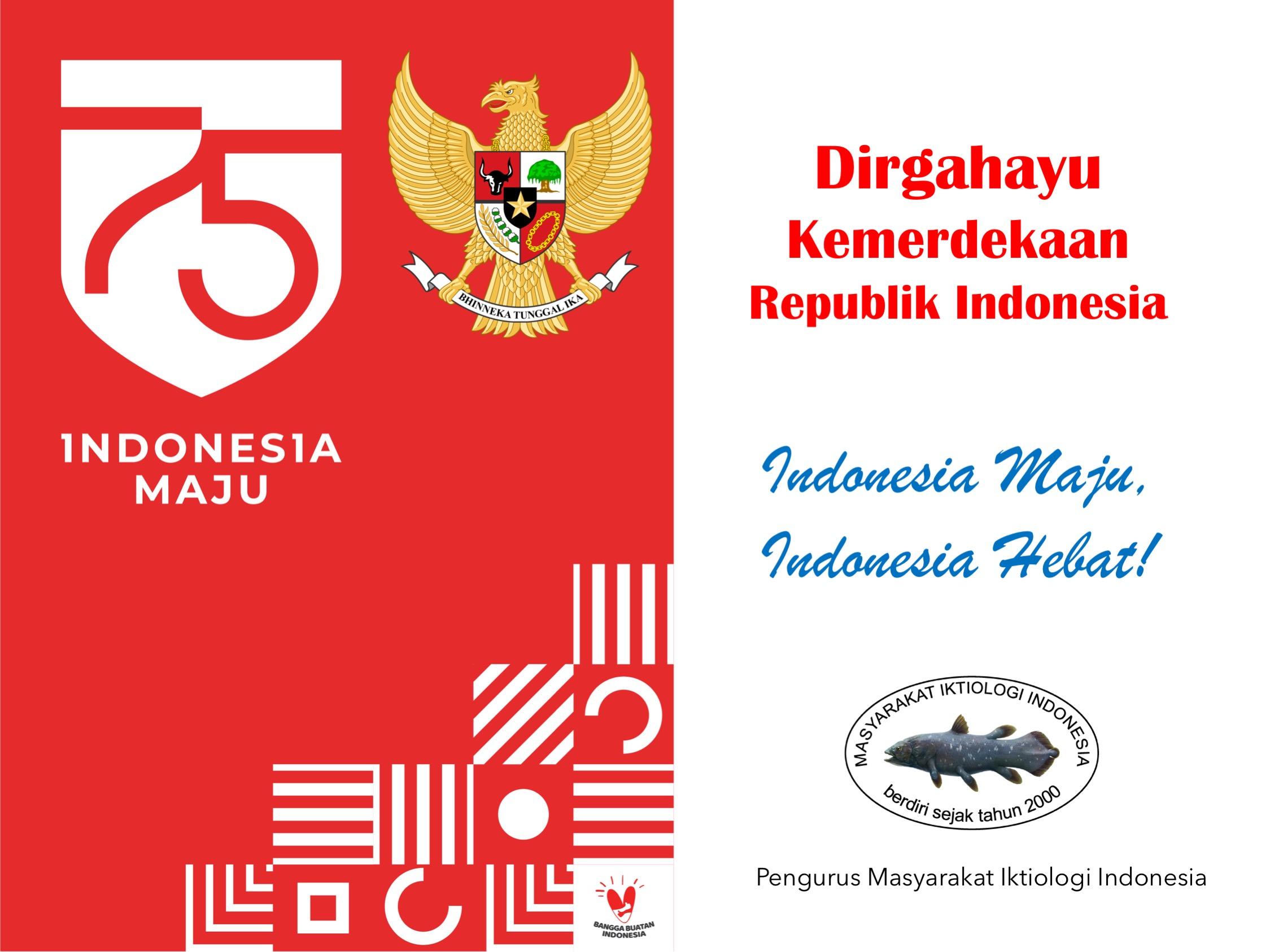 Dirgahayu Kemerdekaan Republik Indonesia
